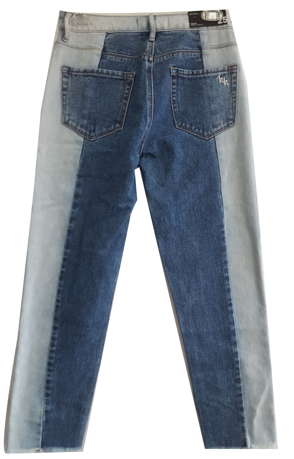 Kendall and Kylie The Icon Perfect Vintage Fit Jean, Blue, 25