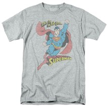 Superman T-shirt A Job For DC comic book Batman superhero retro cotton DCO538 image 2