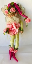 "Mark Roberts Cabbage Rose A2 Fairy Medium 15"" 51-61644 Box + COA Ltd Ed ... - $129.65"