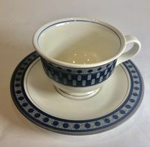 Mikasa Aztec Blue Tea Saucer (only 1 left) - $12.86