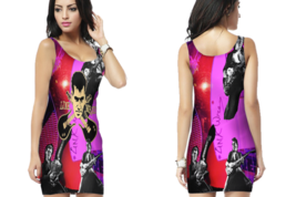 Link Wray & His Raymen 50's Rockabilly  Womens Bodycon Sleeveless Short Mini Dre - $17.99+