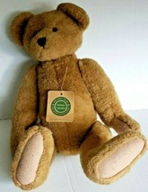 Boyds Bears Brown Teddy Bear Jointed Retired Plush Bear The Archive Coll... - $16.60