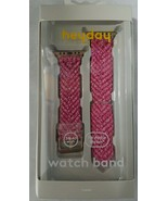 heyday Watch Band for Apple Watch 38-40mm Pink Woven - $19.79