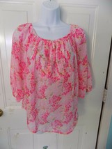 Abercrombie & Fitch Abigail Pink Blouse Size S Women's NEW - $23.20