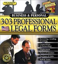 303 Professional Legal Forms - $69.00
