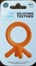 **NEW** Comotomo Silicone Baby Teether, Orange BPA FREE - $4.21
