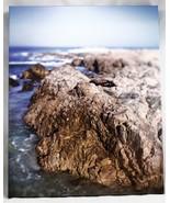 "Ocean Coast Tide pools Rocks Blue Sky Print/Litho 20"" x 16"" - $29.69"