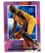 Shaquille O'Neal 1996-97 Skybox E-X2000 Basketball Card #32 Los Angeles Lakers - $18.00