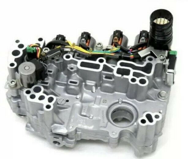 JF015E Trans Valve Body With all Solenoids Nissan Juke Cube Kicks 2012 up