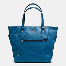 COACH F34039 MICKIE TOTE IN GRAIN LEATHER MSRP:$495.00 - $247.49