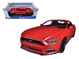 2015 Ford Mustang GT 5.0 Red 1/18 Diecast Car Model by Maisto - $39.99