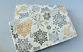 """Special Occasion Snow Much Fun 40-3 Ply Dinner Holiday Napkins 15-2/3"""" x... - $10.65+"""