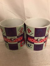 Sherwood Brands Set of Two Monopoly Themed Coffee Cups - $11.30