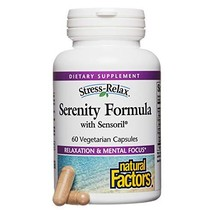 Stress-Relax by Natural Factors, Serenity Formula, Adrenal Support for Emotional