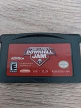 Nintendo Game Boy Advance GBA Tony Hawk's Downhill Jam image 2