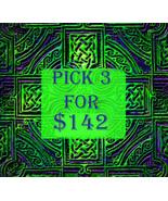 FRI-SUN PICK 3 FOR $142 DOES NOT INCLUDE NO DEALS & MYSTICAL TREASURES - $0.00