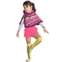 Angelina 12 Pair Dozen Girls Kids Toddler Lace Up Sneaker Knee High Socks 2538 image 5