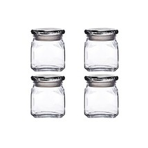 Anchor Hocking Emma Jar with Glass Cover,10-Ounce,Set of 4 - $24.42