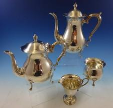 Jack Shepard by Fisher Sterling Silver Tea Set 4pc #2367 (#2414) - $1,674.95