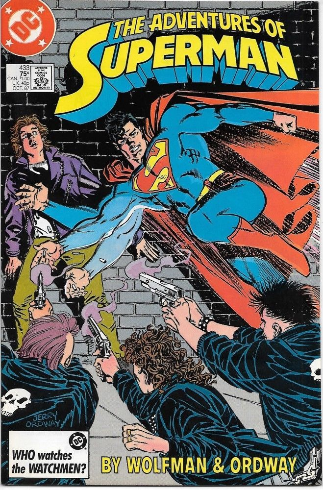 Primary image for The Adventures of Superman Comic Book #433 DC Comics 1987 NEAR MINT UNREAD