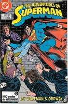 The Adventures of Superman Comic Book #433 DC Comics 1987 NEAR MINT UNREAD - $2.99