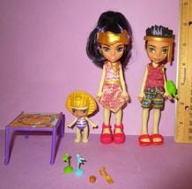 Monster High Monster Family Pharrah Sandy Lux de Nile Sister Brother Mum... - $89.99