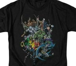 Batman & Gotham City Criminals t-shirt retro DC Comics graphic tee BM1920 image 2