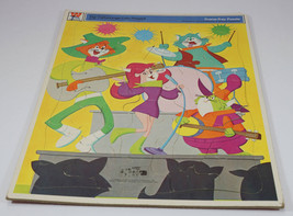 The Cattanoooga Cats Frame Tray Puzzle Hanna Barbera Whitman 1969 - $39.99