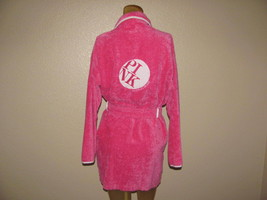 Victoria's Secret Robe Size XS/S PINK Deep Front Pockets Tie Up Waist So... - $28.49