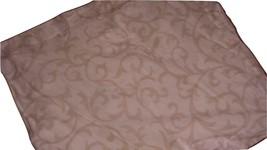 Restoration Hardware Baby Child Scroll Pink & Beige Standard Sham RH - $19.97