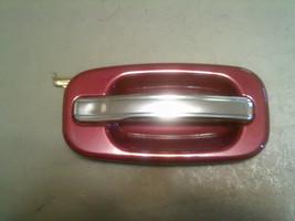03-06 Chevrolet Avalanche RH Side Rear Door SPORT RED Exterior Door Handle - $19.99
