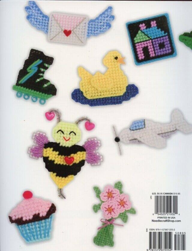 52 Mini Motifs Magnets Birthday, Baby, Holidays, Plastic Canvas Pattern NEW