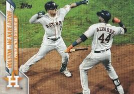 2020 Topps Update Series We have Liftoff Alex Bregman Yordan Alvarez #U-7 Astros - $1.66