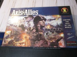 K Axis & Allies Avalon Hill Control The Fate Of The World Complete Strat... - $64.34