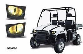 AMR Racing Headlight Eye Graphic Decals Light Cover Polaris Ranger 05-09... - $18.95