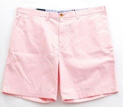 Tommy Hilfiger Pink Flat Front Casual Cotton Shorts Men's NWT - $33.74