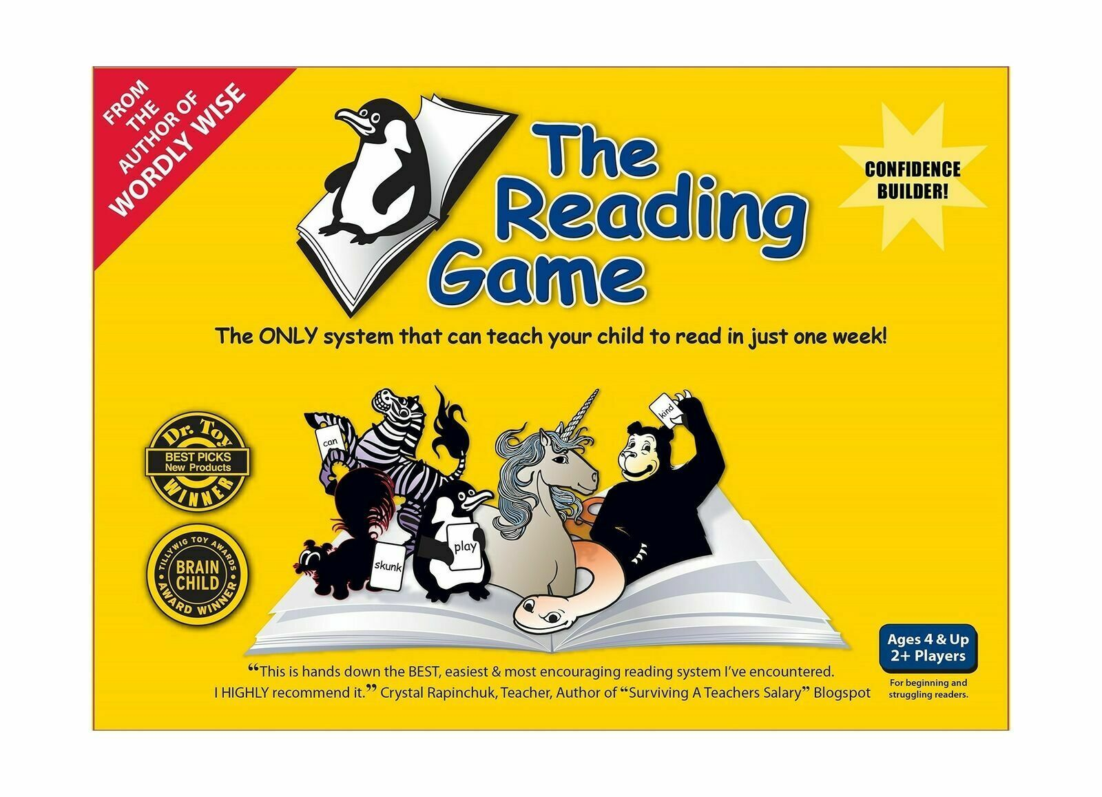 Allsaid & Dunn The Reading Game 2nd Edition AD12518 NEW Sealed!