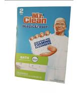 Mr. Clean Magic Eraser Bath Febreze Meadows and Rain scent 2 pads X7 (14... - $34.63