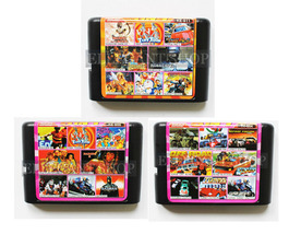 Multi Cart 8 In 1 For Sega Megadrive With Golden Axe Robocop Tiny Toon F... - $17.99