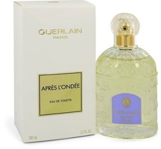 Guerlain Apres L'ondee Perfume 3.3 Oz Eau De Toilette Spray image 5