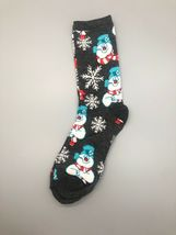 FROSTY THE SNOWMAN CHRISTMAS 3 Pack Crew Socks Size 6-12 image 8