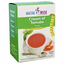 NutriWise - Cream of Tomato Soup   Healthy Nutritious Diet Entrée   High Protein