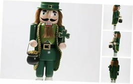 Traditional Irish Wooden Christmas Nutcracker Festive Holiday Decor | We... - $59.51