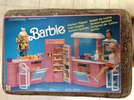 BARBIE MATTEL Kitchen Playset - 1990 - NEW and SEALED - $74.45