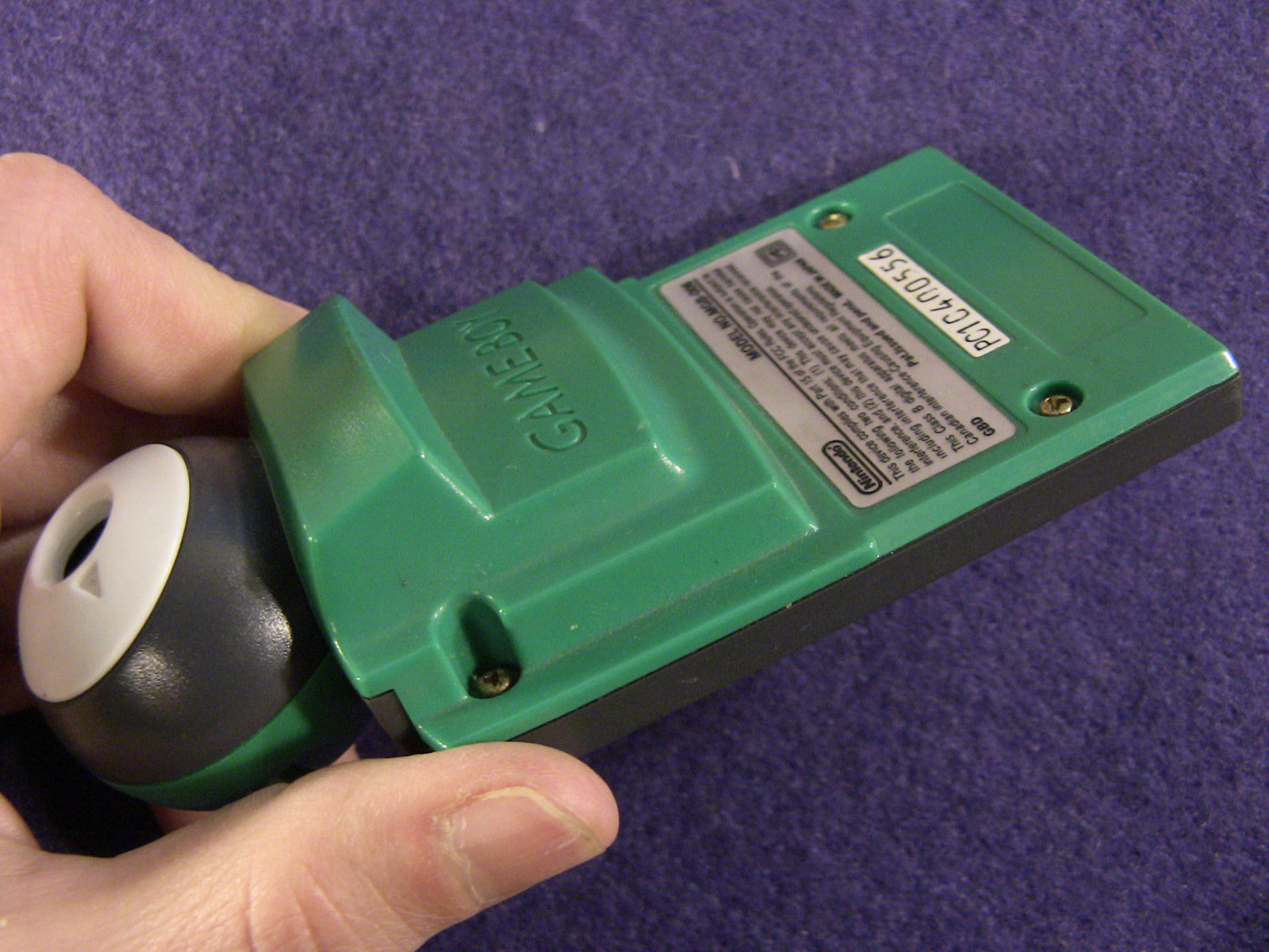 Gameboy Pocket Camera ~ Green (Nintendo Game Boy Color GBC, 1998) Japan Import