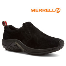 Men Sizes Suede Merrell Shoes Moc Jungle Mens MIDNIGHT Slip Comfy NIB All on 84AHwq