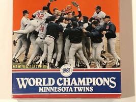 1987 Minnesota Twins World Series Champions Original Wheaties Box Empty ... - $11.65