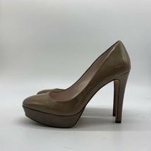 Vince Camuto Bronze Patent Leather Platform High Heels, Size 7M - $19.80