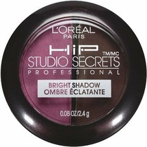 L'Oreal HiP High Intensity Pigments Bright Shadow Duo, Brazen 118 by L'O... - $8.72