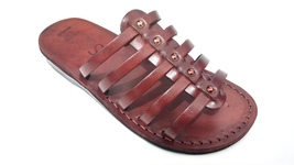 Leather Sandals for Women NEPTUN by SANDALIM Biblical Greek Roman Sandals - $40.36 CAD+